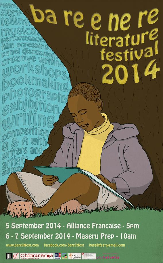 Ba re e ne re Lit Fest poster