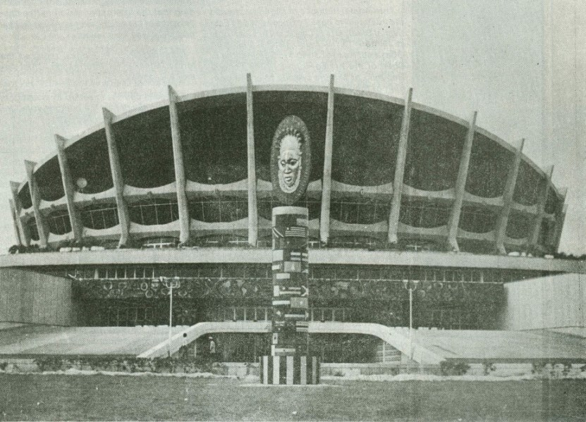 National Theatre, Lagos (during Festac). From ICA mag